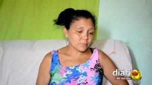 Dona Maria Selma, mãe da vítima