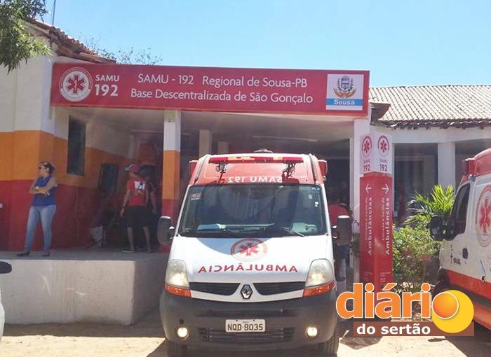 Base do SAMU em São Gonçalo foi inaugurada recentemente (foto: Facebook)