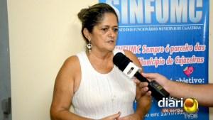Presidente do sindicato, Elinete Lourenço