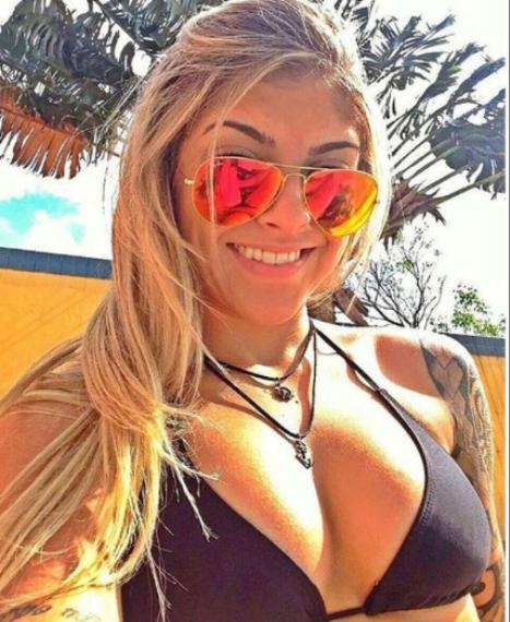 BRUNA ELLEN - A brasileira tem 20 anos. São vitórias no cartel. É lutadora da Team Nogueira, a equipe dos irmãos Minotauro e Minotouro © REPRODUÇÃO / INSTAGRAM