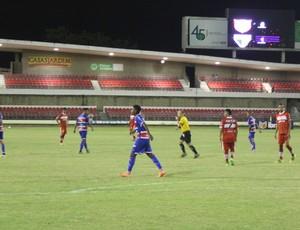 Fortaleza bateu o CRB por 1 a 0 (Foto: Denison Roma/GloboEsporte.com)