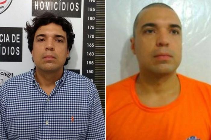 Lucas Porto no mesmo dia do crime contra Mariana Costa (Foto: Foto montagem:G1)