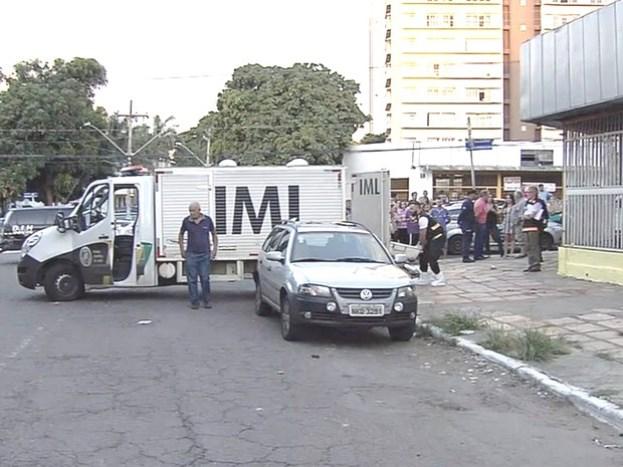 Pai mata filho durante discussão e depois comete suicídio, diz polícia (Foto: Reprodução/TV Anhanguera)