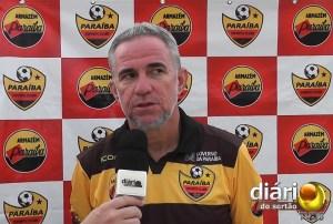 Jorge Luiz, técnico do Paraíba