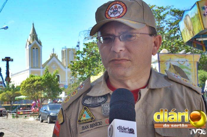 Tenente-coronel Carlos Jean Benício voltará ao comando do 6BBM em Sousa (foto: Charley Garrido)