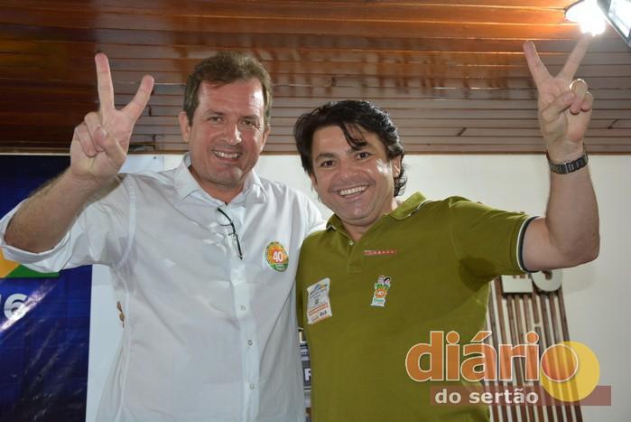 Fábio Tyrone e Zenildo Oliveira (foto: Diário do Sertão)