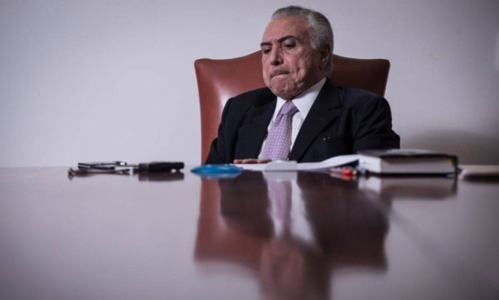 Temer deve renunciar à Presidência em pronunciamento, diz jornal