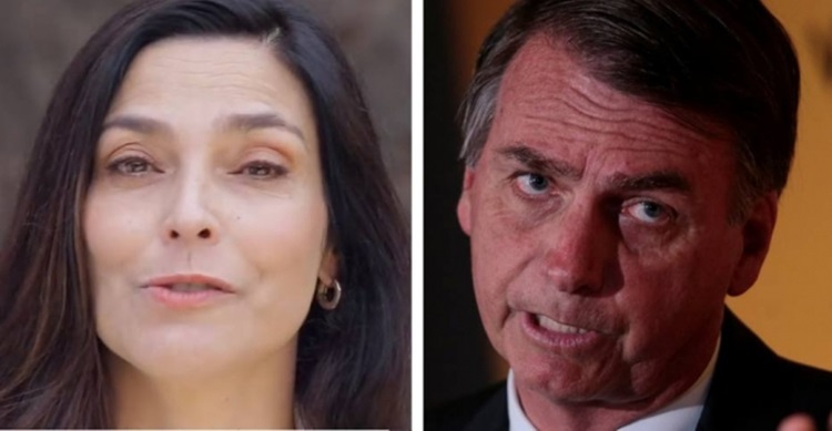 Ex-apresentadora do Jornal Nacional compara Bolsonaro a Hitler em vídeo. Assista