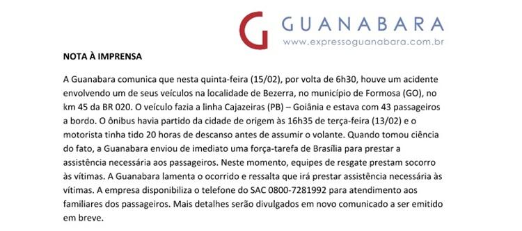 nota guanabara - VEJA VÍDEO: Assista o momento do regate das vítimas do acidente com ônibus da Guanabara