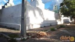 Imediações do cemitério Coração de Maria