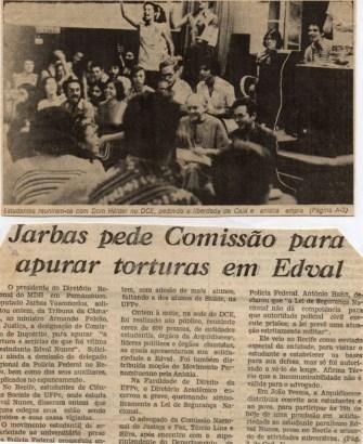 Cajá foi torturado brutalmente durante o período em que esteve preso