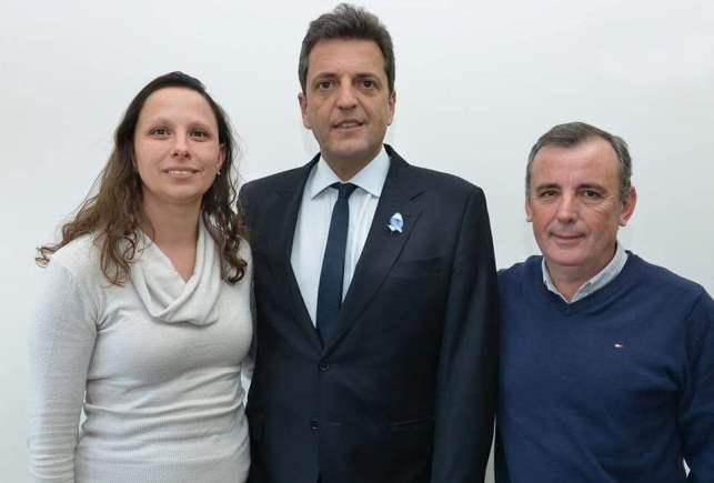 Sergio Massa respaldo la candidatura de Claudio Lovisolo y Patricia Gorza (1)