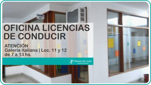 nuevas licencias