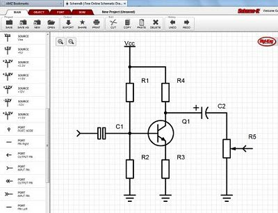 Make Circuit Diagrams Online