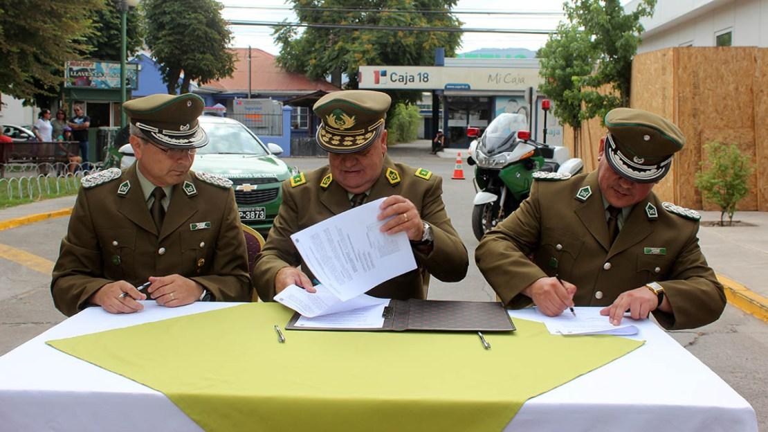 Nuevo prefecto Ricardo Yáñez Colchagua enero 2016