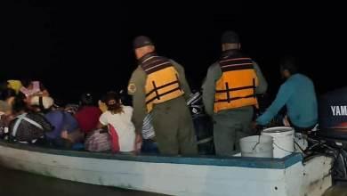 Photo of GNB intercepta a 60 personas en un bote que se dirigían a Trinidad y Tobago