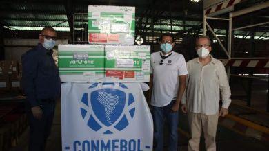 Photo of Conmebol entregó 4.200 vacunas a la Federación Venezolana de Fútbol