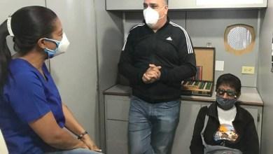 Photo of Alcalde Raydan acompañó en una nueva jornada de exámenes visuales