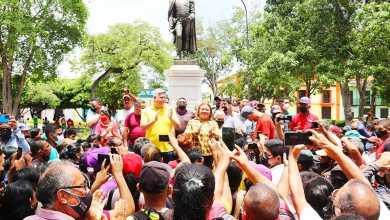 Photo of En acto público Yohana Pérez anunció que entregó la alcaldía al PSUV