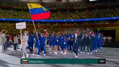 Photo of Venezuela dice presente en Tokio con 43 atletas