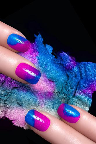 Las uñas de colores se llevan en 2015