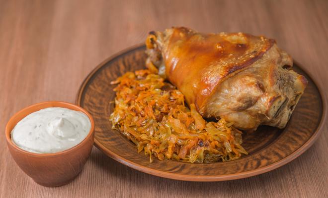 Recetas de platos principales para Navidad: pierna de cerdo