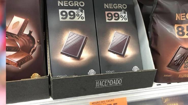 Chocolate 99% de Mercadona