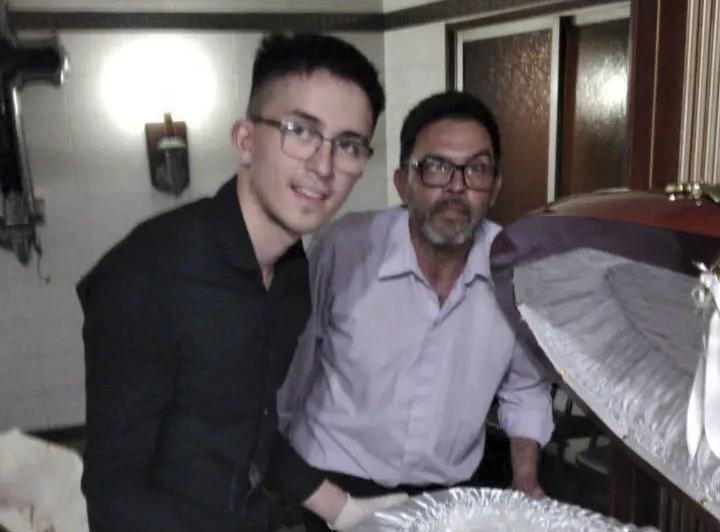 Ataúd Maradona