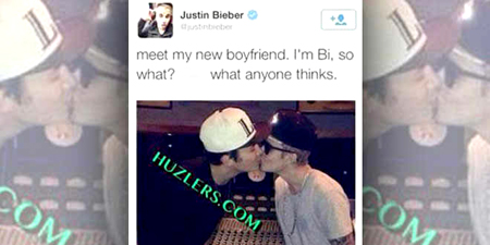 Una polémica foto de los cantantes Justin Bieber y Austin Mahone se difundió