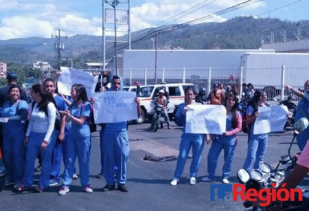 Protesta universidad