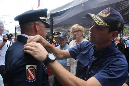 Capriles bomberos