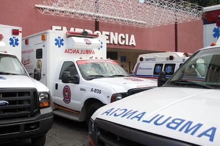 El herido llegó al hospital mirandino con dos impactos de bala en su pierna derecha. ARCHIVO