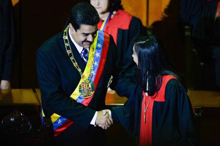 VENEZUELA-POLITICS-MADURO-SUPREME-COURT