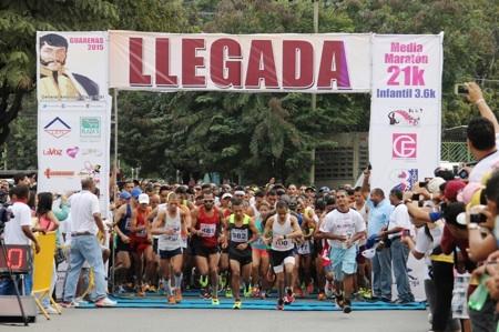Media Maratón Guarenas 21K