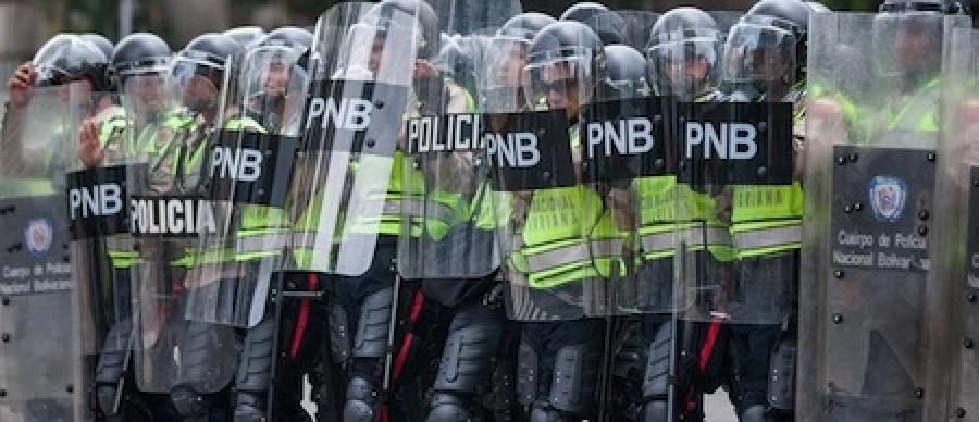 Los habitantes de la capital mirandina se sumaron a la protesta en la capital de la República.