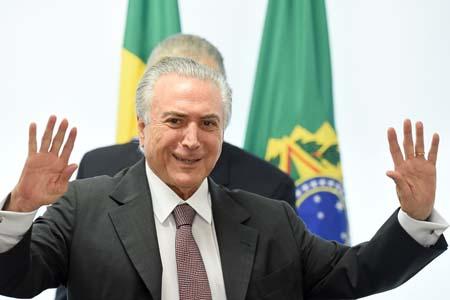 BRAZIL-TEMER-UNIONS-MEIRELLES