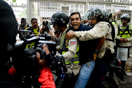 VENEZUELA-OPPOSITION-PROTEST