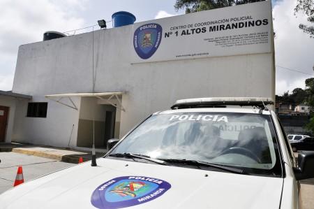 fue aprehendido por efectivos de la Policía del estado Bolivariano de Miranda, en la carretera nacional Santa Teresa