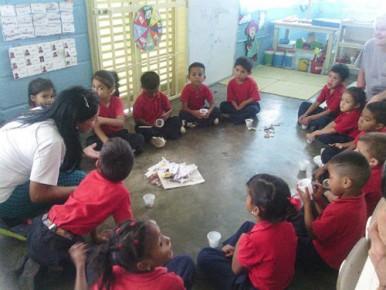 Este tipo de actividades permiten que desde una temprana edad los niños tengan conocimientos saludables.
