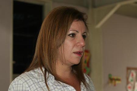 Mariana Hernández, directora encargada de la escuela estadal