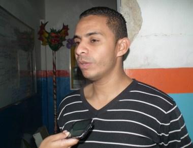 Justín Morillo, director de la UEN Simón Bolívar