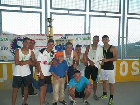 Darwin Portal, coordinador deportivo Voluntad Popular Guaicaipuro, explicó que están llevando la Copa Leopoldo López a todas las parroquias del municipio