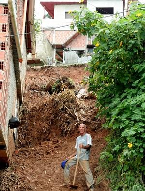 En El Pardillal se han visto afectados por las lluvias. Foto: Deisy Peña