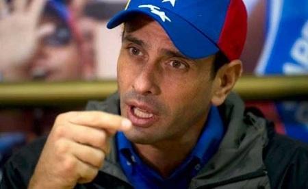 No hay forma de salir de la crisis sin apoyo internacional — Capriles