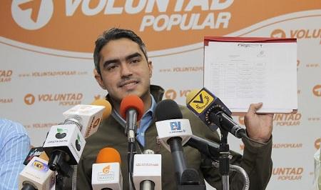 Luis Somaza dirigente político de VP en Miranda