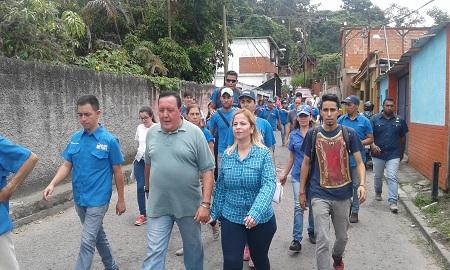 Rodríguez y Ocariz arrancan campaña con mira al 10 de septiembre