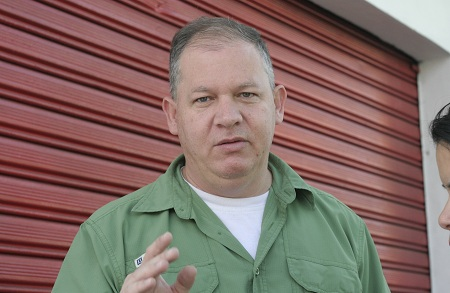 Rubén Díaz, dirigente del PSUV en Guaicaipuro Foto: Deysi Peña