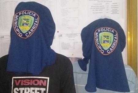 Los uniformados  respondieron a la acción armada, lo que originó que delincuentes desistieran del robo y huyeran hacia una zona boscosa