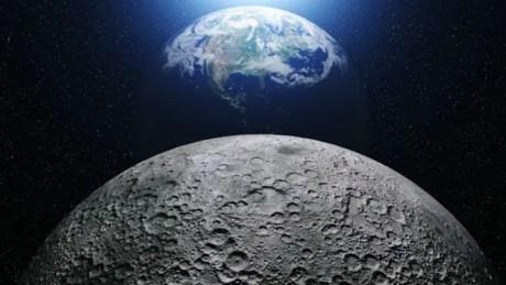 Los planetas se verán entre la Luna y el horizonte de la Tierra.