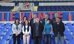 Alfafar firma un un convenio con los veteranos del Levante UD para la creación del club de fútbol Levante-Alfafar